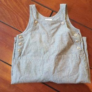 Gap baby sz 18-24m soft fabric overalls